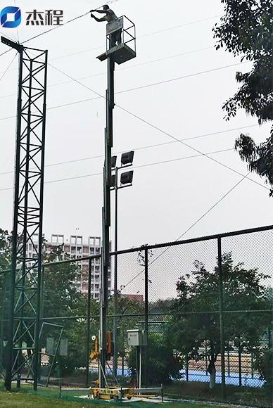 铝合金升降机出租应用于市政工程